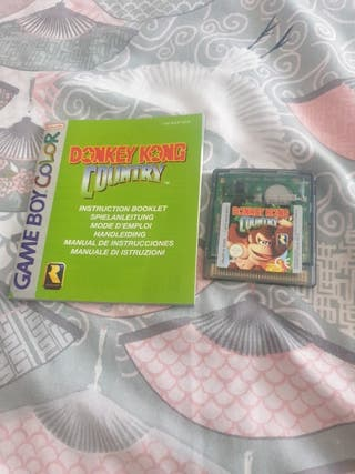 donkey kong country gameboy