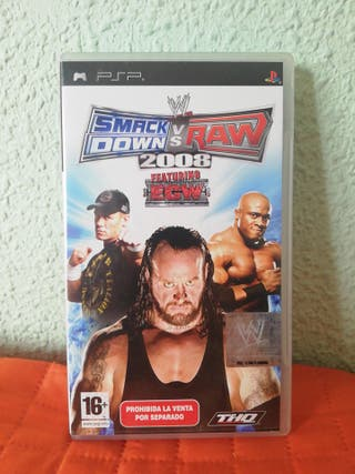 SMACK DOWN VS RAW PSP