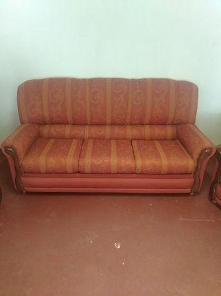 sofás clásicos, muy cómodos