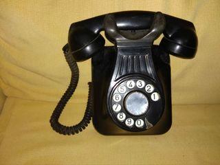 Teléfono baquelita años 50. Coleccion.