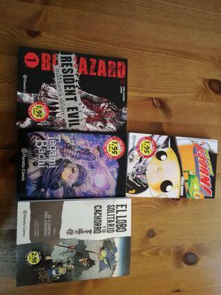 Mangas variados. Editorial norma. Cómo nuevos.