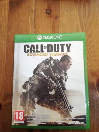 Call of Duty Advance Warfare Xbox One casi nuevos.