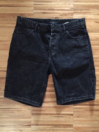 Pantalón pirata negro 38-40