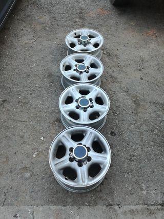 Llantas de aluminio 4×4