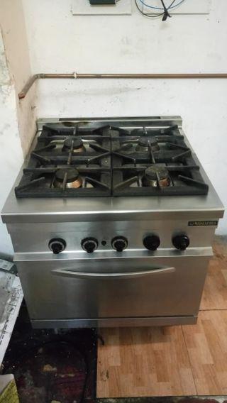 cocina industrial de gas