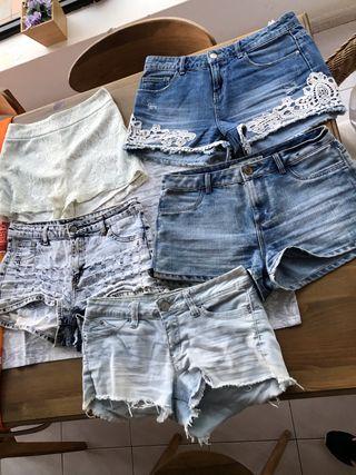 5 pantalones cortos