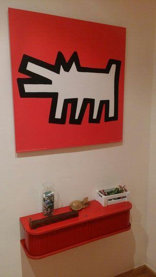Recibidor - mueble y cuadro