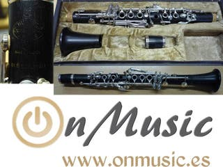 Clarinete Requinto en Mib Buffet Conservatoire C12