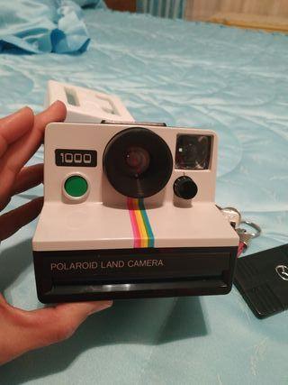 maquina de fotos Polaroid 1000