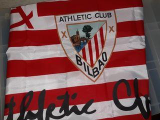 BANDERA PEQUEÑA ATHLETIC CLUB DE BILBAO 77X46CN