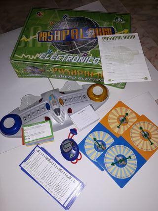 juego de mesa pasapalabra electrónico