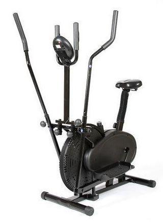 Bicicleta elíptica y estática CROSS TRAINER