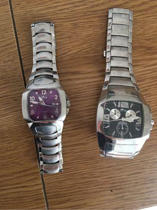 Pareja de dos relojes LOTUS