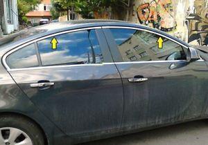 Molduras cromadas ventanillas Opel Insignia