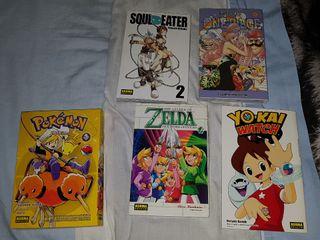 Lote Mangas y Comics