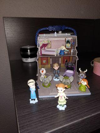 Castillo Frozen Animators Colection Disney
