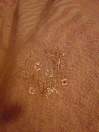 antiguo manton indumentaria