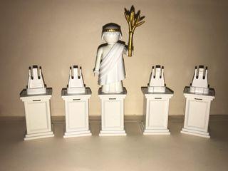 Playmobil base para estatua con pedestal