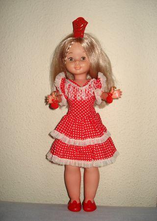 Vestido Nancy flamenca