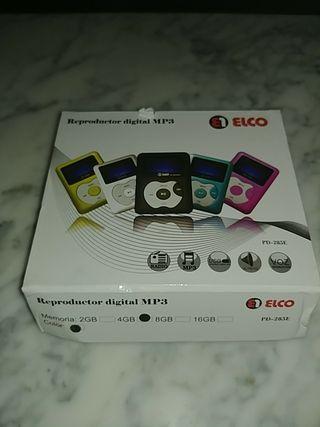 Reproductor mp3 nuevo