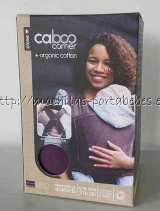 Mochila portabebés ergónomica Caboo Carrier