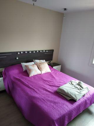 cama 150+cómoda+2mesillas+cabecero + somier