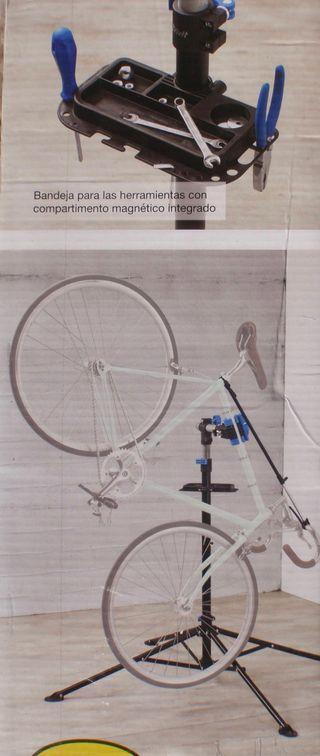 Soporte taller para bici
