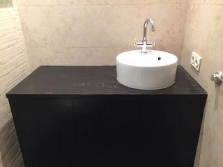 Mueble de cuarto de baño con lavabo