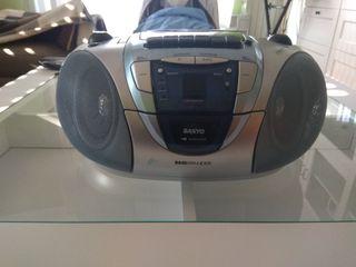 Radio cassette - Mini cadena SANYO