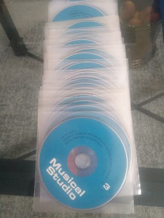 57 CDs de Musical Studio