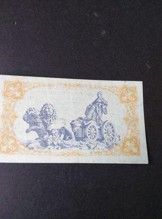 Una peseta de 1937.