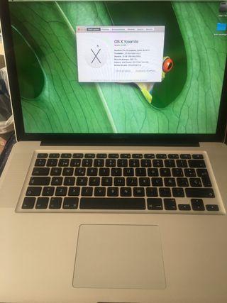 MacBook Pro finales 2011