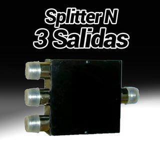 adaptador conversor T ladron splitter antena conex