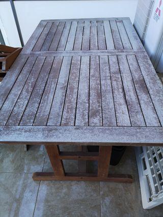 Mesa jardín y 6 sillas, Muy Buena calidad