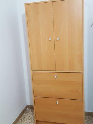 Zapatero con armario