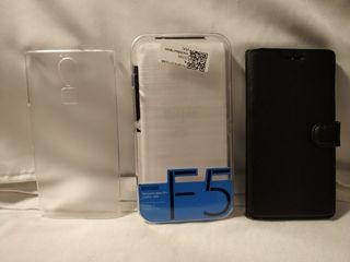 Fundas y cristal para telefono Dooge F5