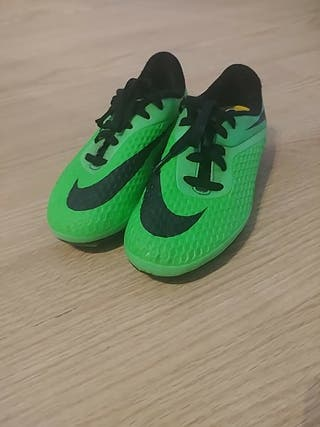 zapatillas de fútbol nike, niño talla 31