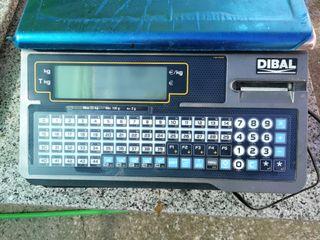 Balanza registradora con cajón marca Dibal