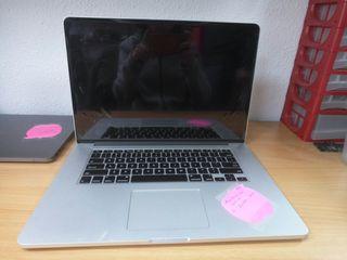 """Macbook pro 15"""" retina i7 16GB"""