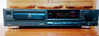 technics reproductor cd