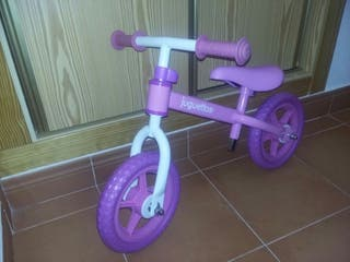 bicicleta sin pedal.