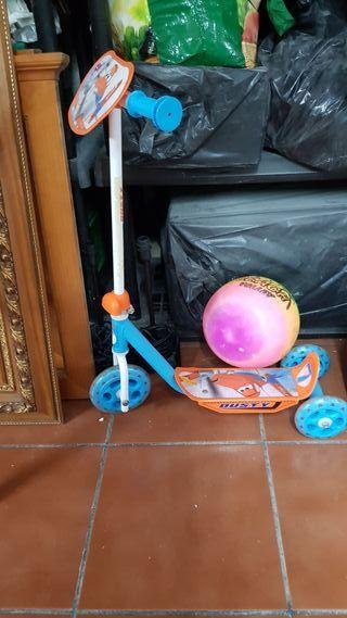Patinete de 3 ruedas Rayo macqueen