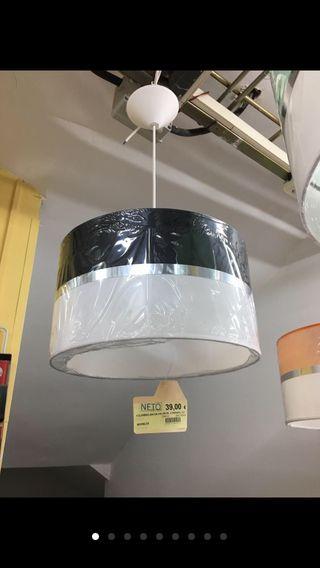 Lámpara colgante de techo bicolor SÚPER OFERTA