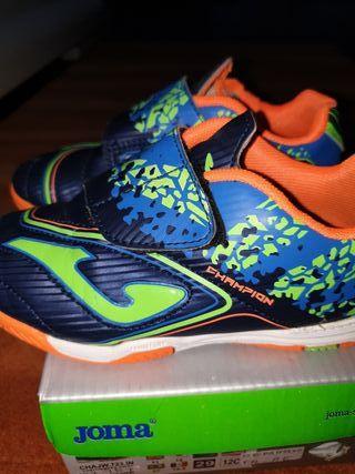 Zapatillas de fútbol sala número 29