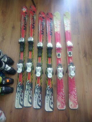 liquidación esqui 90 100 110 120 130 y 140 Junior