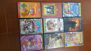 9 Dvds infantiles