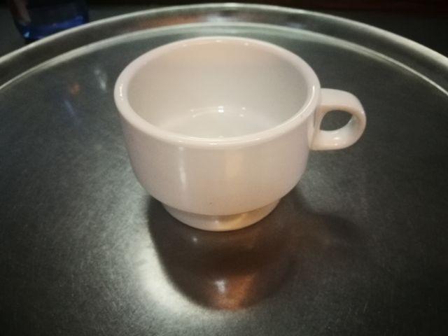 Tasas de cafe con leche