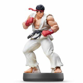 Ryu Street Fighter Amiibo super smash Bros