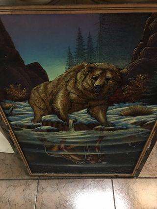 Cuadro de oso