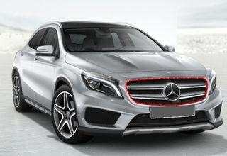 Rejilla frontal Mercedes GLA